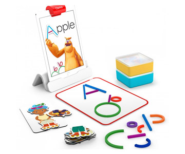Osmo Little Genius - zestaw 6 gier oraz reflektor z podstawką do iPad