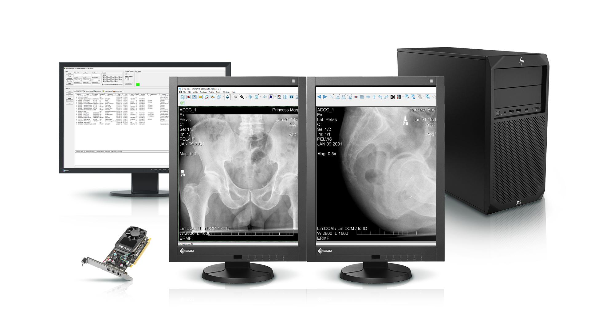 Stacja RTG/CT/MRI