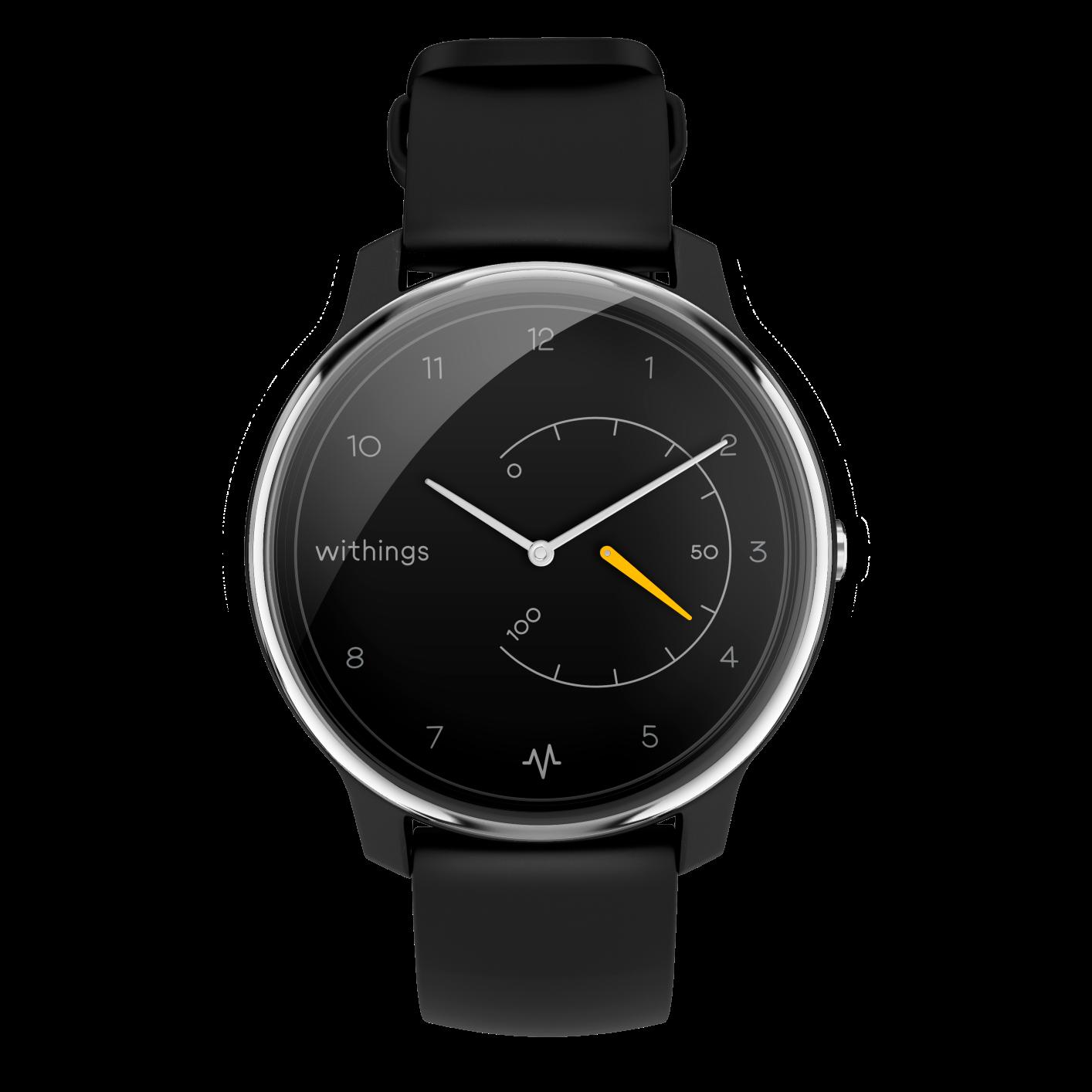 Move ECG  - pierwszy na świecie analogowy zegarek z funkcją pomiaru EKG i możliwością wykrycia migotania przedsionków
