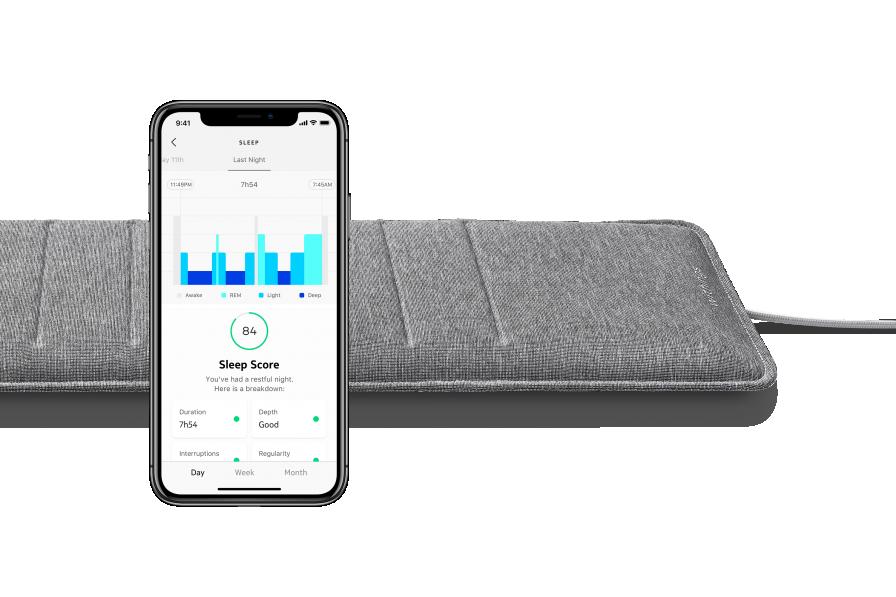 Withings Sleep Analyzer - mata monitorująca sen z certyfikatem medycznym
