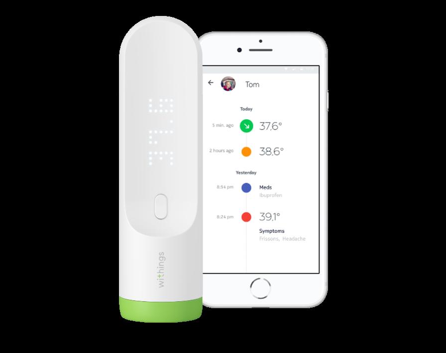 Withings Thermo - termometr z technologią HotSpot Sensor