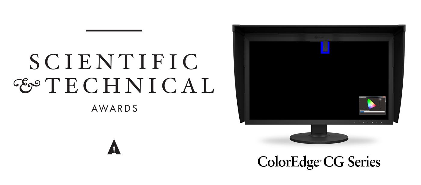 Nagroda techniczno-naukowa amerykańskiej Akademii Sztuki i Wiedzy Filmowej dla monitorów EIZO ColorEdge z funkcją autokalibracji