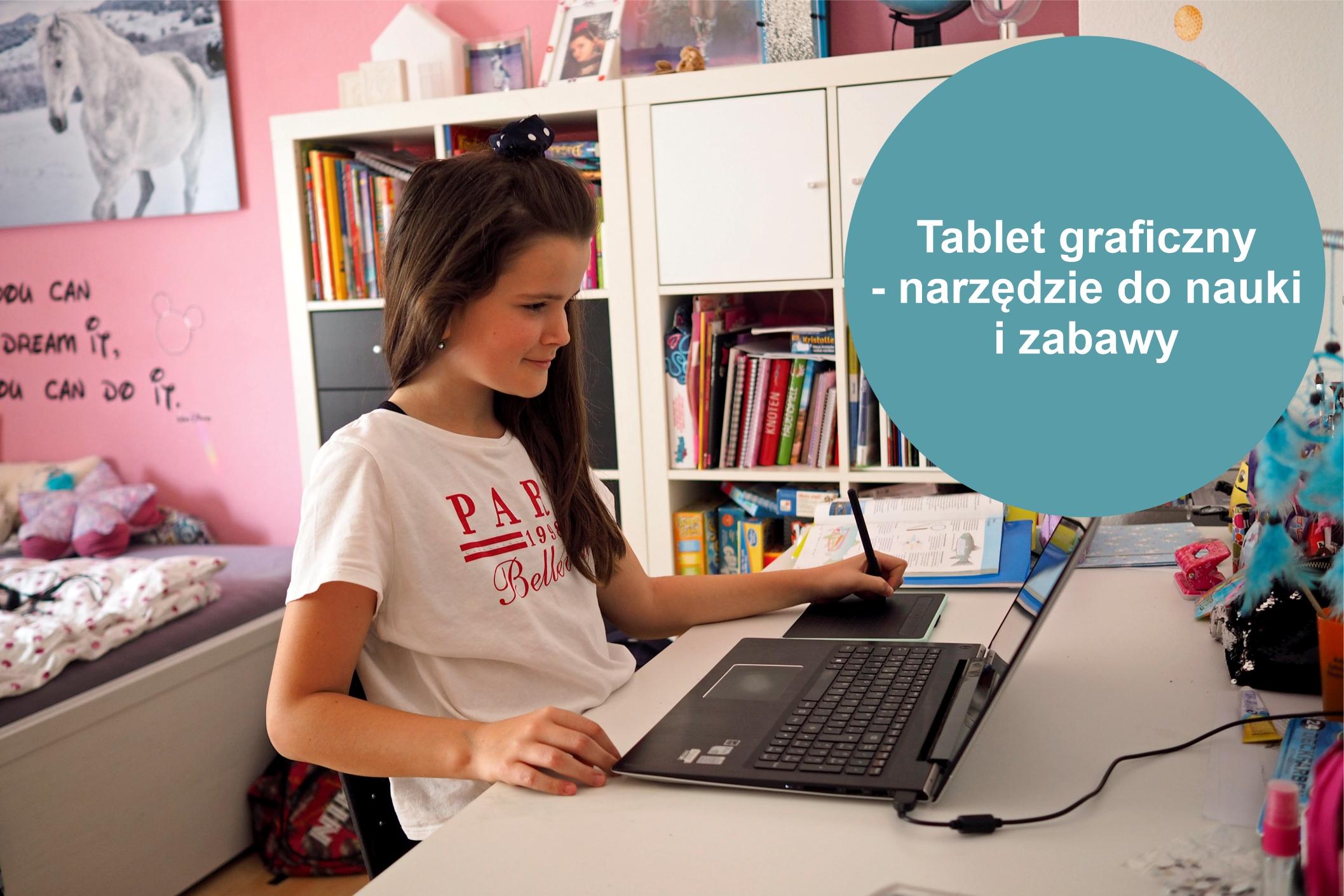 Tablet graficzny - doskonałe narzędzie do nauki i zabawy