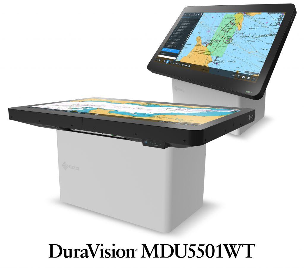 55-calowy monitor nawigacyjny